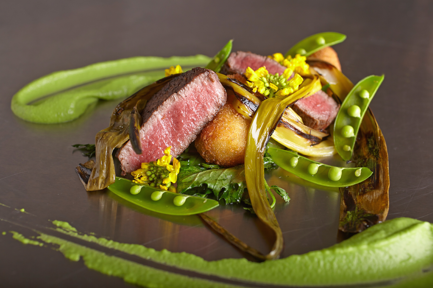 Filet mignon- sustainably sourced cuisine from global gourmet