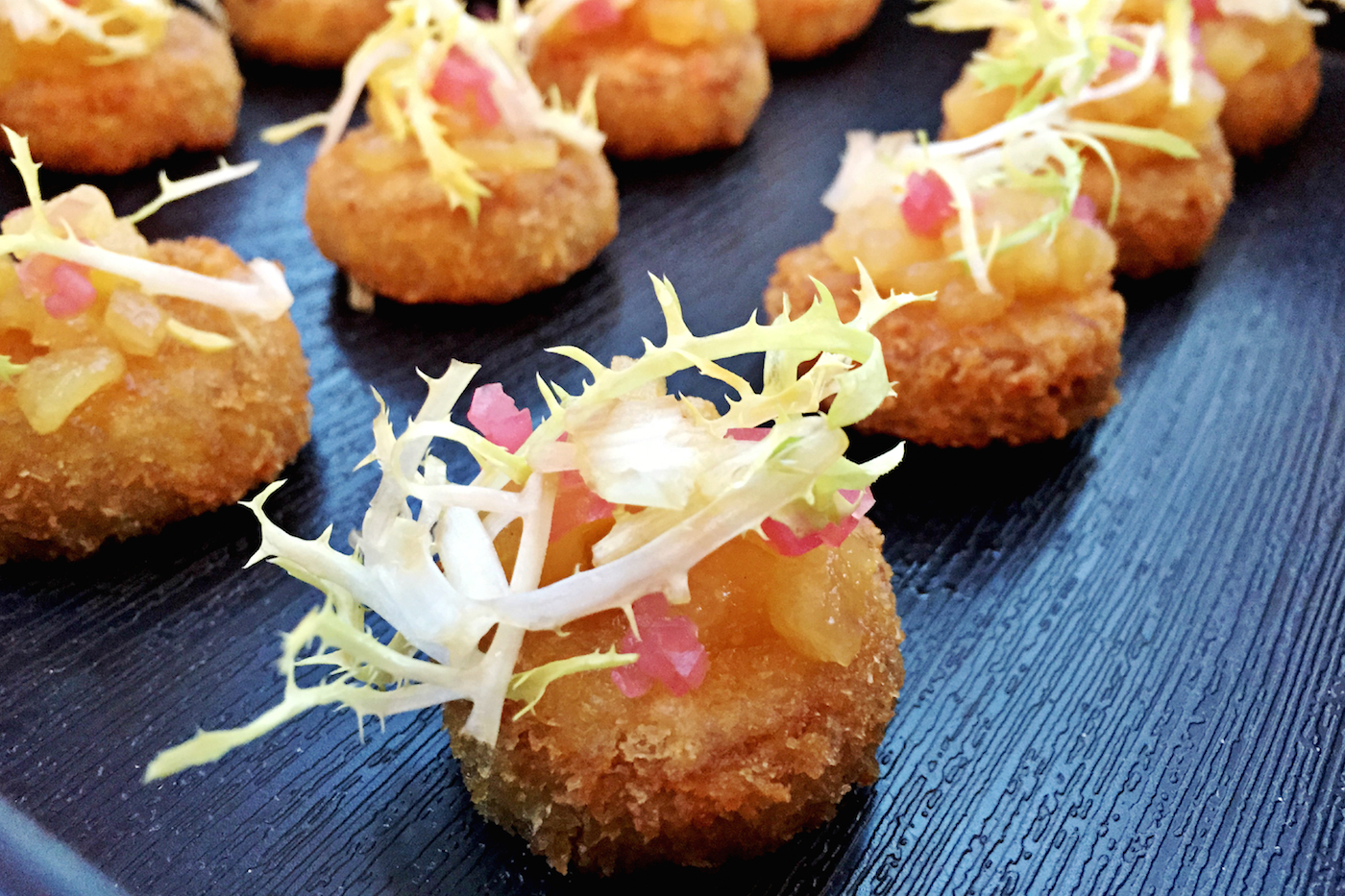 locally sourced hors d'oeuvres for bay area weddings