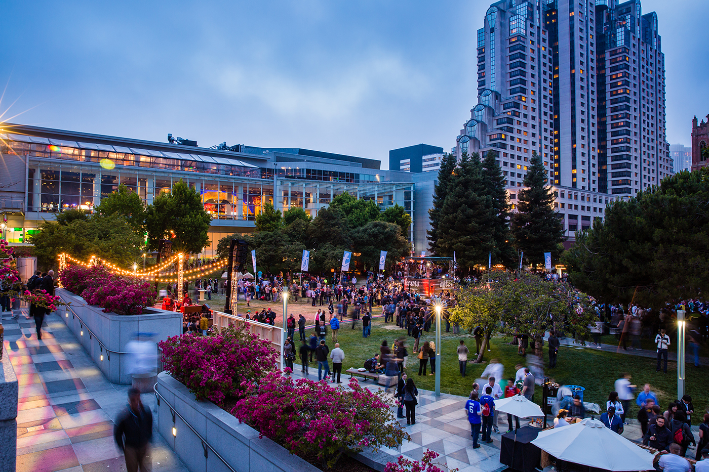 Yerba Buena Gardens Outdoor Catering Green Events