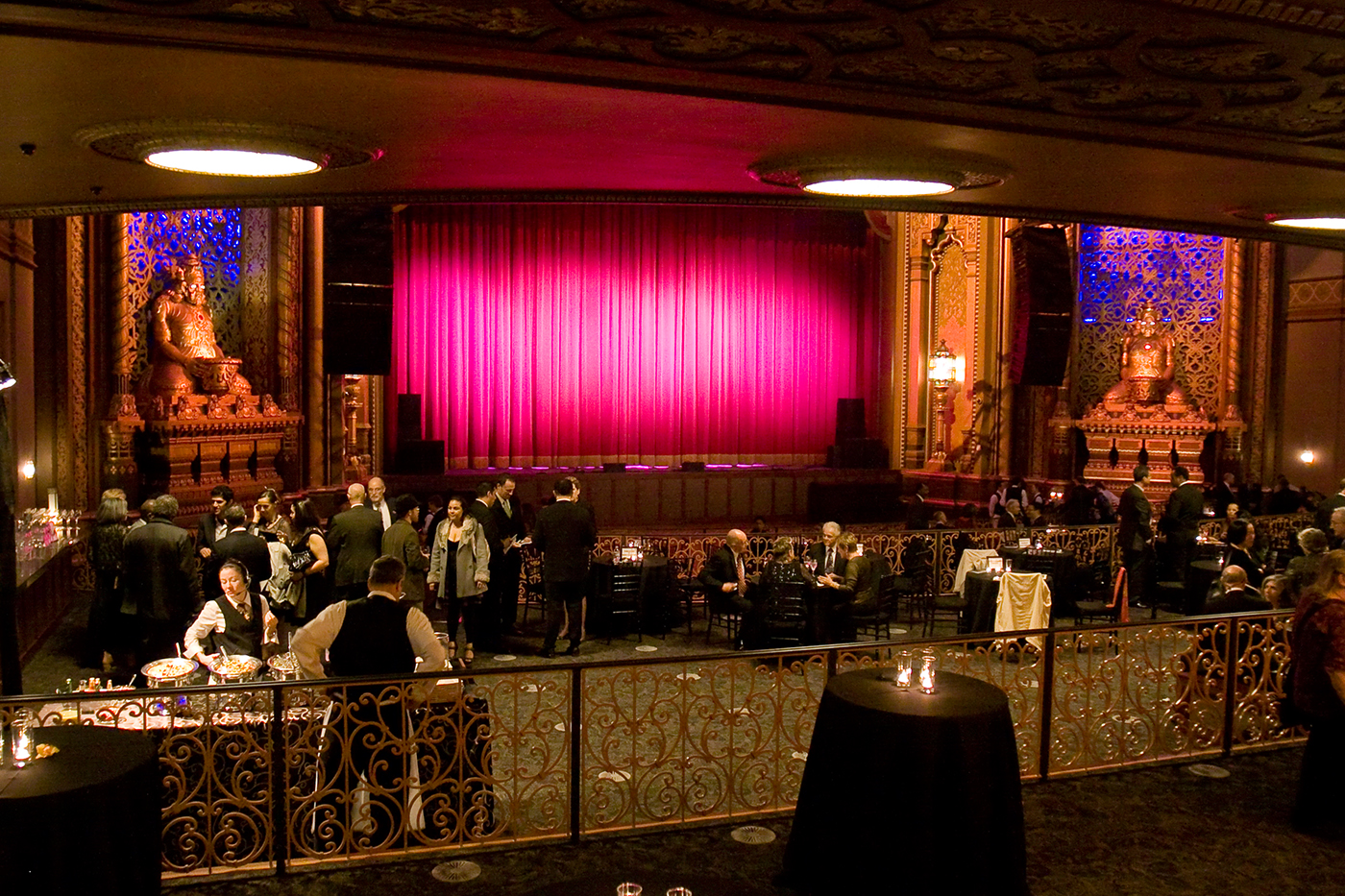 Fox Theatre Weddings In Oakland Top Bay Area Wedding Catering