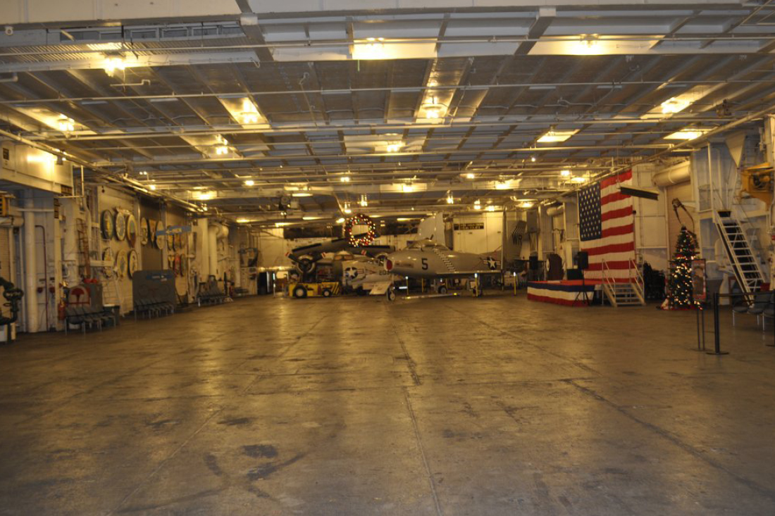 USS Hornet Aircraft Carrier | Local Bay Area Caterer Venues