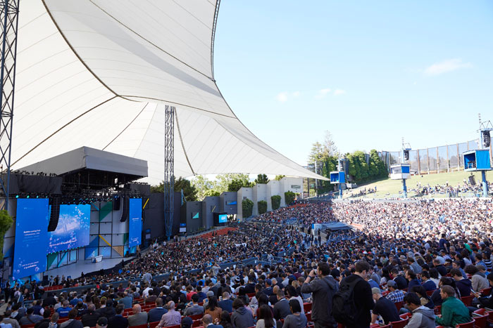 Google IO keynote address