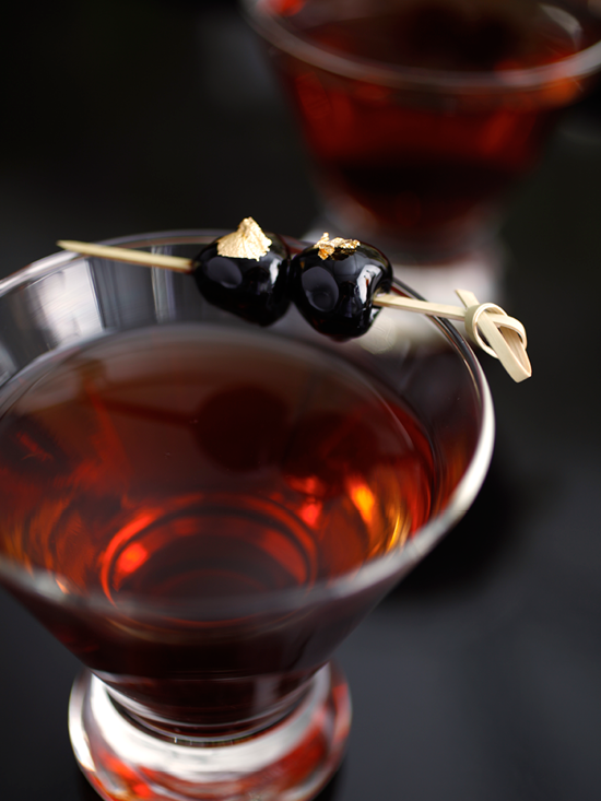 Smoked Manhattan Specialty Cocktail